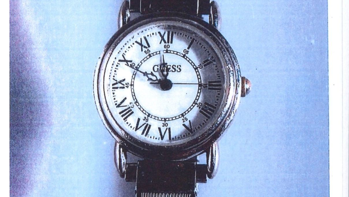 Claremont trial: Victim's silver Guess watch provides timeline of killing