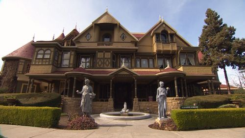 The Winchester mansion is located in San Francisco. (9NEWS)