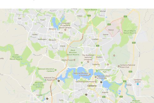 The Watson suburb of Canberra where the fatal dog attack occurred.