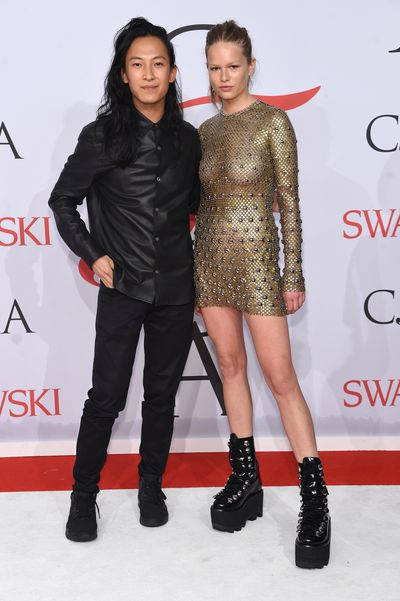 Alexander Wang and Anna Ewers<br>