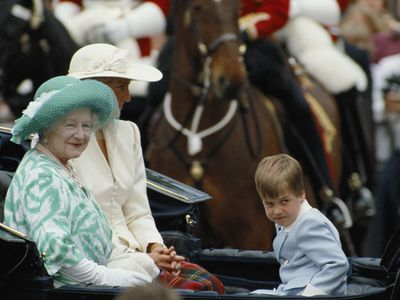 Trooping the Colour: Prince William
