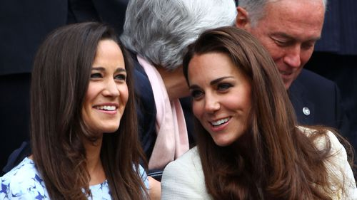 The Duchess of Cambridge is 'thrilled' for her sister.