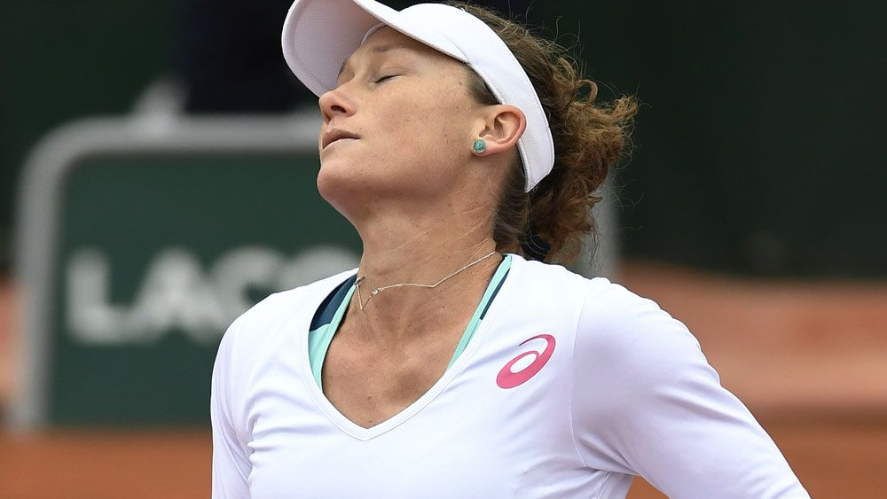 Stosur thrashed in French Open semi-final