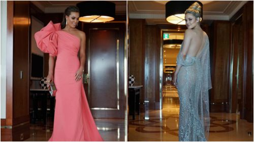 Brownlow Medal 2017: WAGs share sneak peek of glamorous gowns on social media