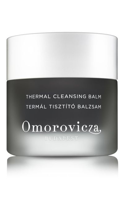 "<a href=""http://mecca.com.au/omorovicza/thermal-cleansing-balm/I-020155.html"" target=""_blank"">Thermal Cleansing Balm, $105,&nbsp;Omorovicza</a>"