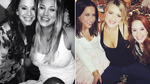 Bikinis and cocktails! <i>Big Bang Theory</i>'s Kaley Cuoco throws epic hens weekend