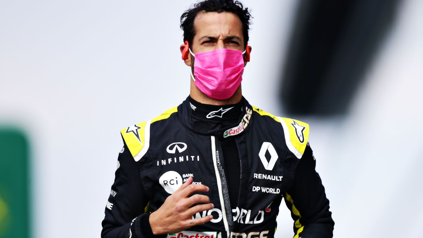 Daniel Ricciardo finishes sixth at the Italian GP. (Getty)