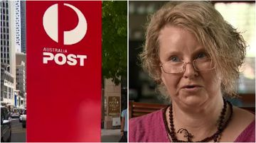 Mandy Hickman is travelling across the country to make sure her grand-kids get their Christmas presents, since she doesn't trust Australia Post.