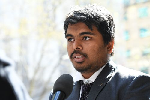 Monash University master's student Chinmay Naik has taken a failed assignment about dogs to Victoria's Supreme Court.