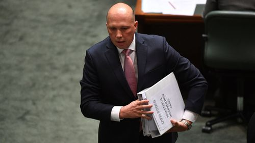 Malcolm Turnbull said the matter surrounding Peter Dutton's eligibility to sit in Parliament should be clarified.