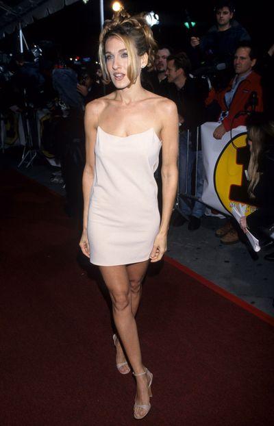 Sarah Jessica Parker at the VH1 Vogue Fashion Awards, 1991