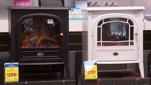 People in the market for a heater are urged to check the energy star ratings of their appliances.