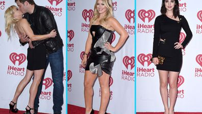 Stars rocked the red carpet for the iHeartRadio music festival at the MGM Grand Resort and Casino in Las Vegas.<br/><br/>From PDA to wardrobe malfunctions, see all the action direct from Vegas in our gallery...