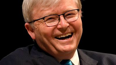 Rudd's appeal to 'wilted' Turnbull