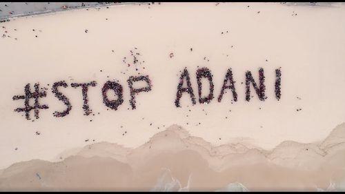 Major rallies opposing the coal mine were held across Australia. (Stop Adani)