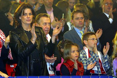 Princess Stephanie of Monaco refused to name the father of her third child, born in 1998 after she split from her bodyguard husband.