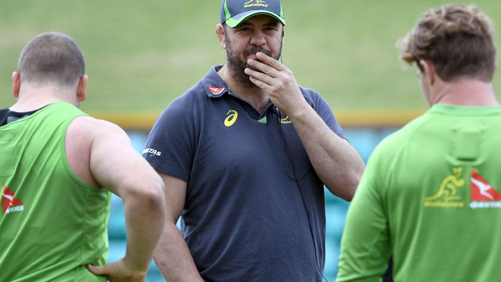 Wallabies coach Michael Cheika. (AAP)