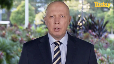 Peter Dutton has urged all eligible Australians to get vaccinated, saying that when the nation opens up those who haven't 'are at risk'.