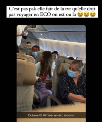 Influencer caught 'faking' first class flight photoshoot