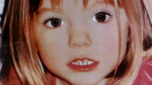 A photo of Maddie McCann from the time she went missing. (Getty)