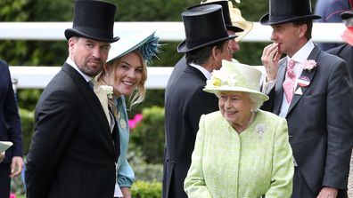 Peter Phillips Autumn Phillips Queen Ascot