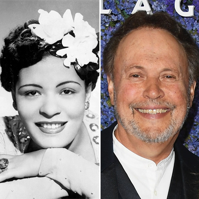 Billie Holiday and Billy Crystal