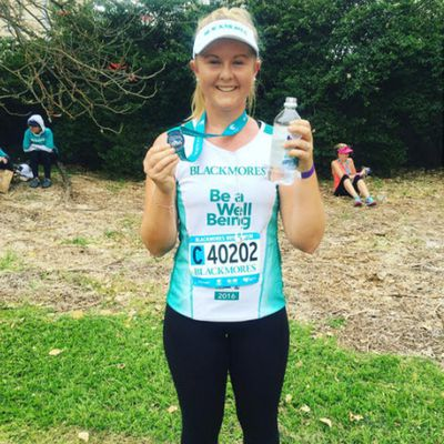 "<strong>Laura Majewski, owner of<a href=""https://www.facebook.com/LauraMajewskiSportScientist/"">LJM Health & Fitness</a></strong>"