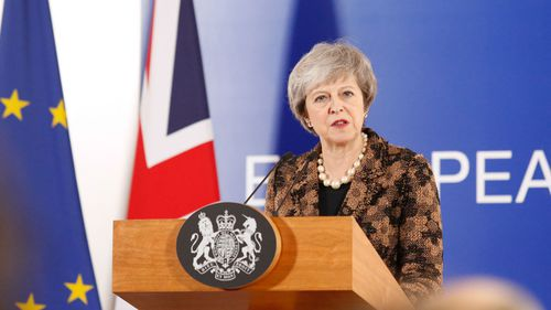 The British Parliament was supposed to vote on Ms May's Brexit plan last week, but she postponed it after it became clear that lawmakers would decisively reject it.