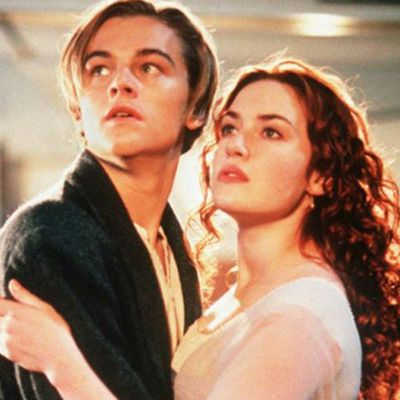 Leonardo DiCaprio and Kate Winslet: Then…