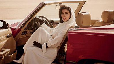Saudi Princess Hayfa bint Abdullah al-Saud (Vogue/Twitter)