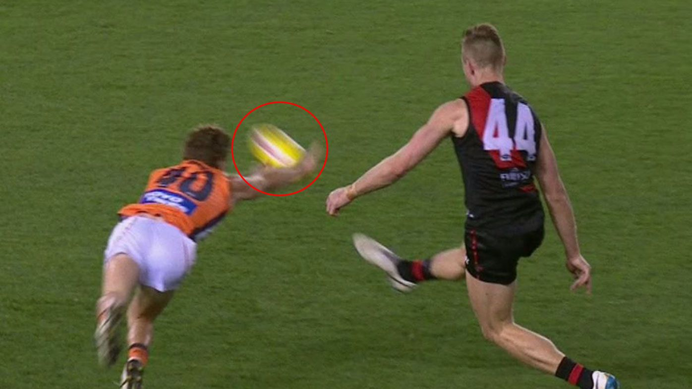 'The biggest embarrassment in our game': Controversial score review error ripped again as Bombers shock GWS Giants late