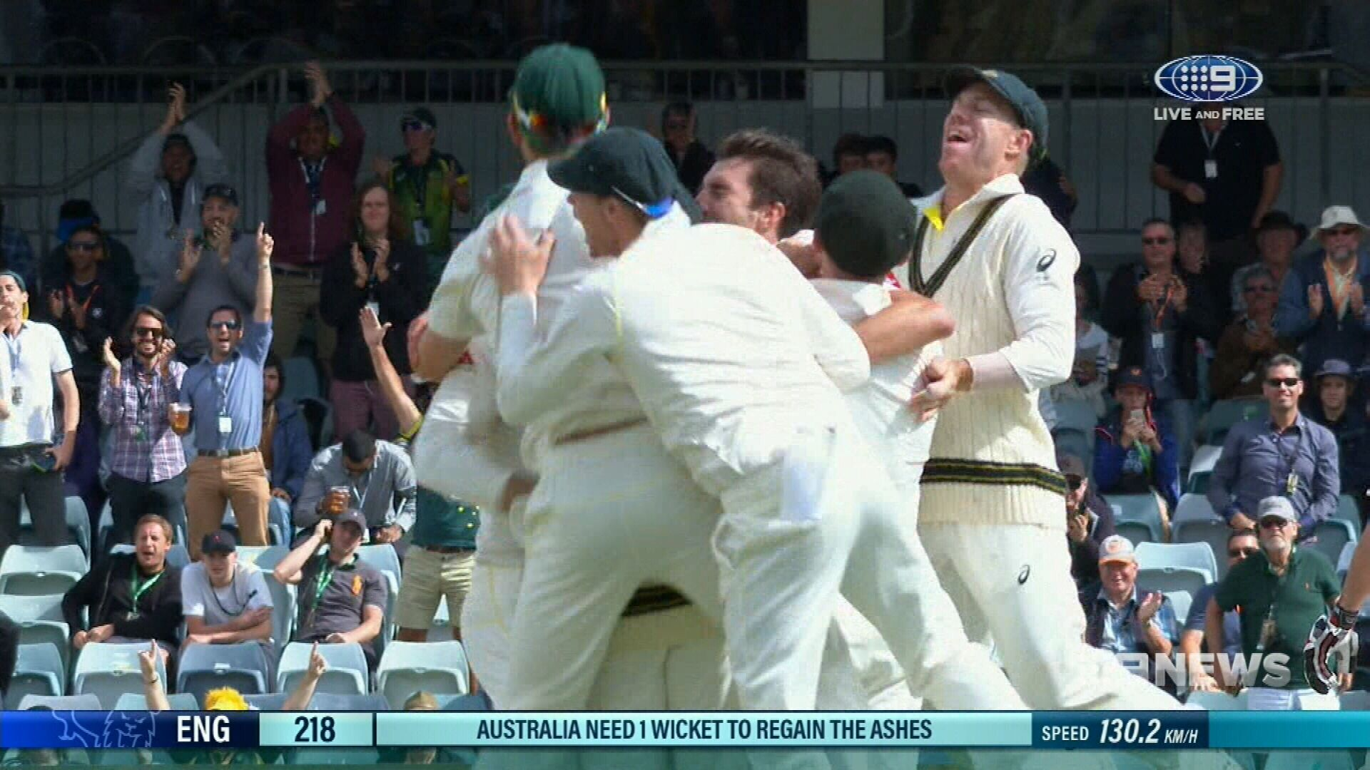 Australia win third Test to reclaim Ashes