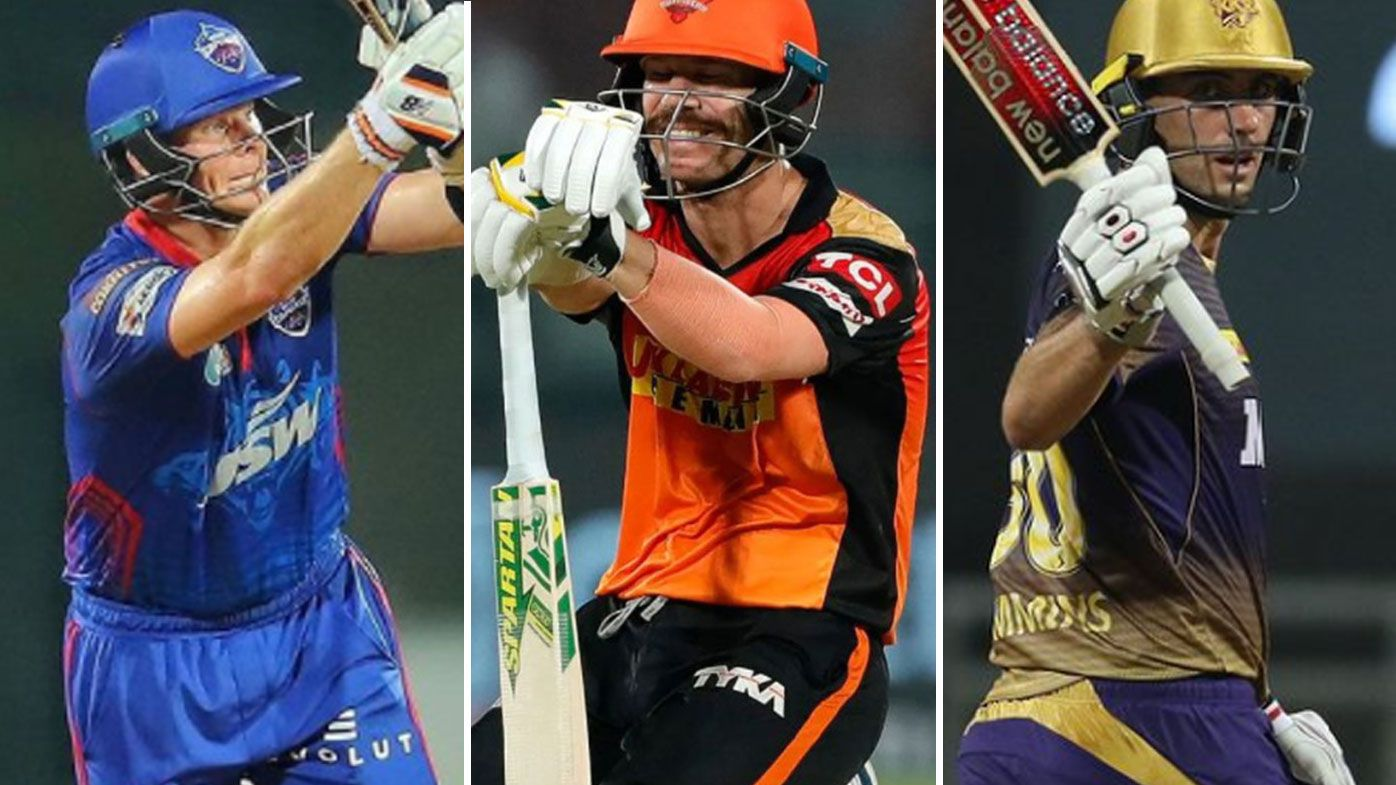 Steve Smith, David Warner, Pat Cummins.