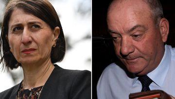 NSW Premier Gladys Berejiklian and Daryl Maquire.