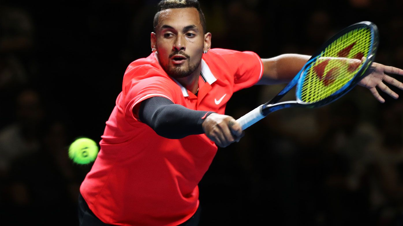 Tennis: Nick Kyrgios puts on a show as Rafael Nadal makes promising comeback in Fast4