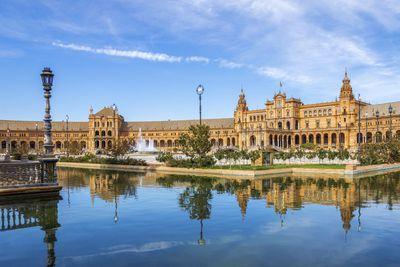 <strong>2. Plaza de Espana – Seville, Spain</strong>