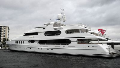 Tiger Woods owns a 47-metre megayacht named 'Privacy'. (Supplied)