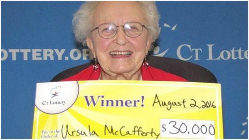 95-year-old uses lottery winnings to buy new mobile phone in US