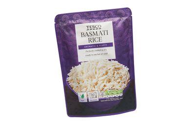 Tesco Basmati Rice Pouch 250g ($1.90)