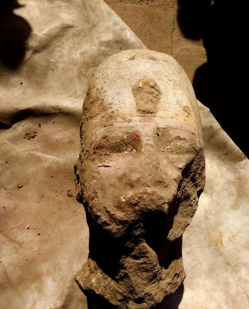 Parts of Ramses II statue found in southern Egypt