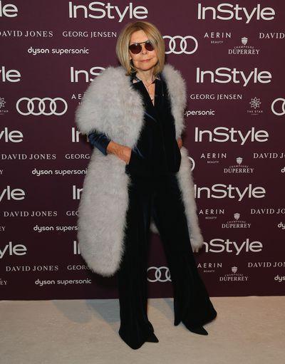 <p>Carla Zampatti - Designer</p> <p>Age: 75</p> <p>Go-to labels: Carla Zampatti, Bianca Spender</p>