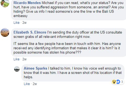 Friends from around the world sprang into action after Mikey Lythcott's desperate Facebook post.