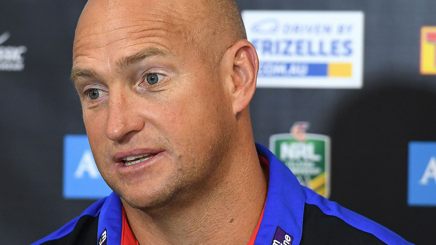 Newcastle Knights sign Nathan Brown to open-ended coaching deal