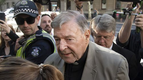 Cardinal George Pell conviction news Melbourne jail child sex offences