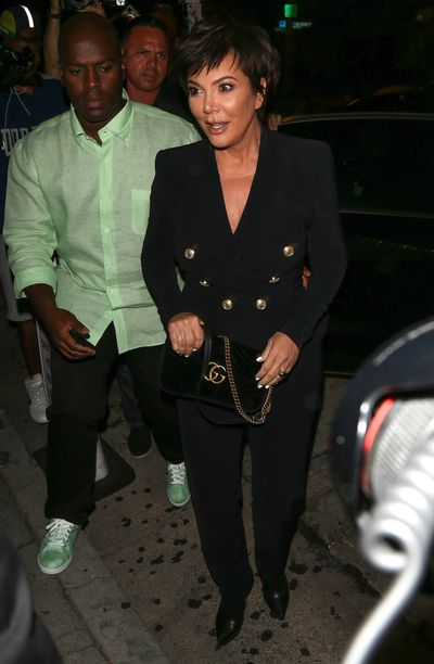 Kris Jenner at the 21st birthday celebrations of Kylie Jenner