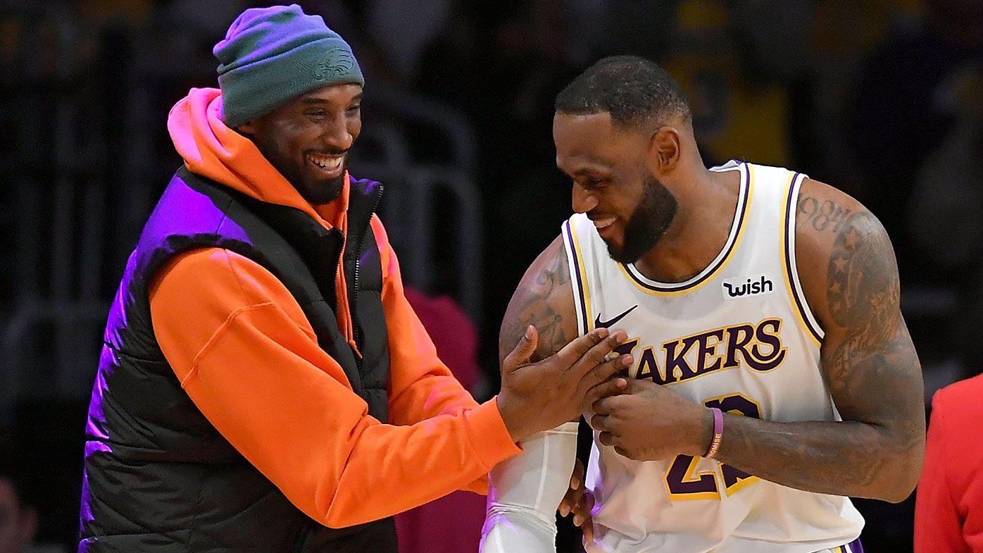 LeBron James 'heartbroken and devastated' at tragic death of Kobe Bryant