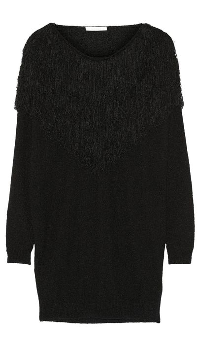 "<a href=""http://www.net-a-porter.com/au/en/product/511432/Chloe/oversized-fringed-silk-blend-sweater"" target=""_blank"">Oversized Fringed Silk-Blend Sweater, $2202.69, Chloe</a>"