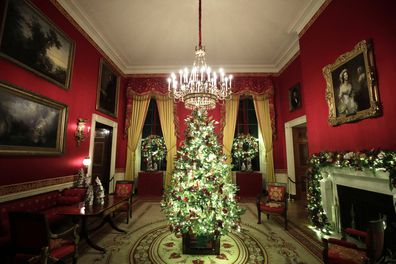 Melania Trump unveils White House Christmas decorations 2019