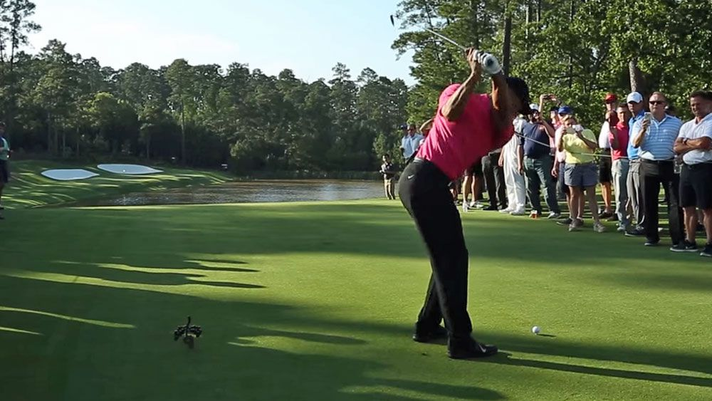 Woods hits the fairways on comeback trail