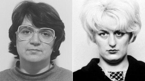 'House of Horrors' serial killer Rose West (left) and 'Moors murderer' Myra Hindley